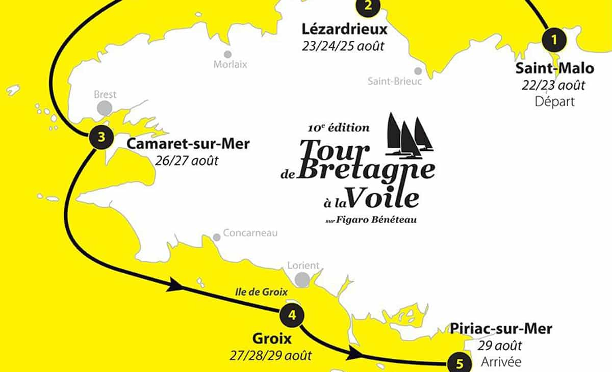 tour bretagne voile 2017