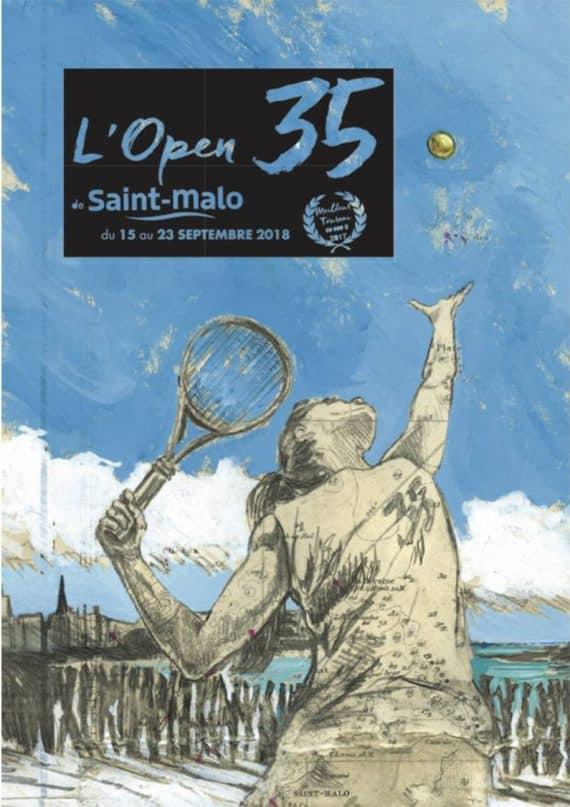 Tournoi de tennis féminin à Saint-Malo