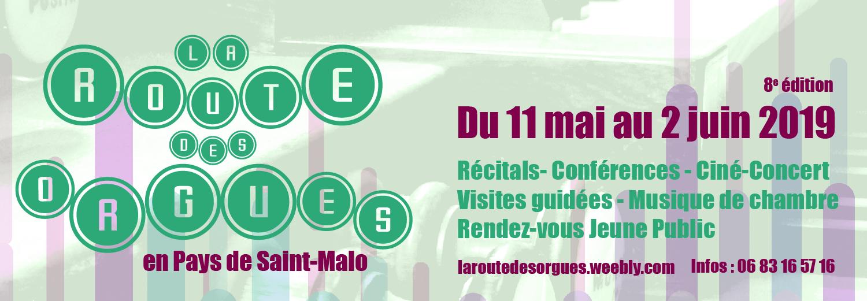 Route des orgues à Saint-Malo