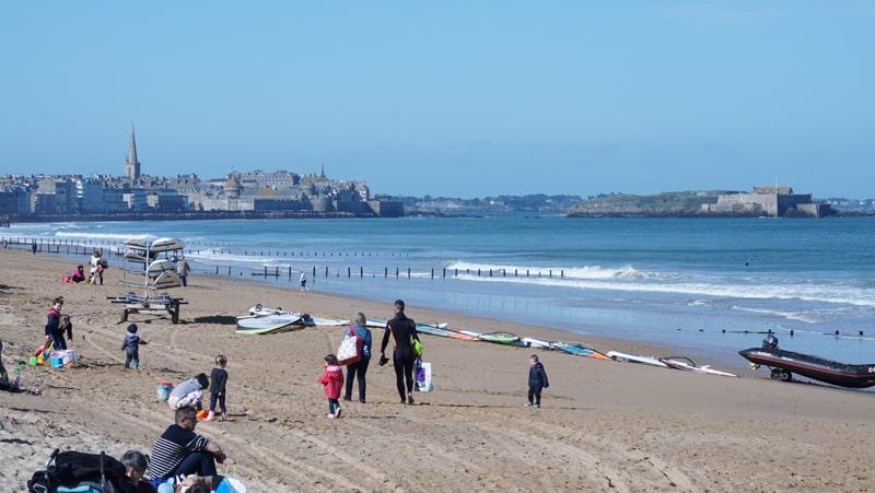 Les plages de Saint-Malo