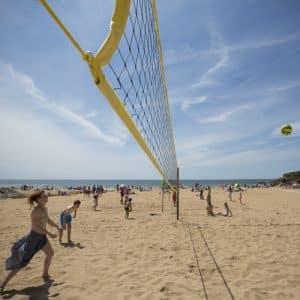 Beach volley à Saint-Malo