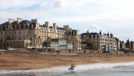 Le Grand Hotel, vue mer à Saint-Malo