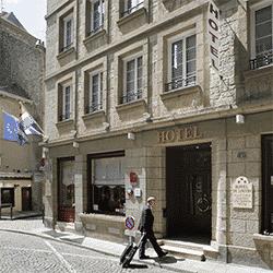 Hotel du Louvre a Saint Malo intra muros