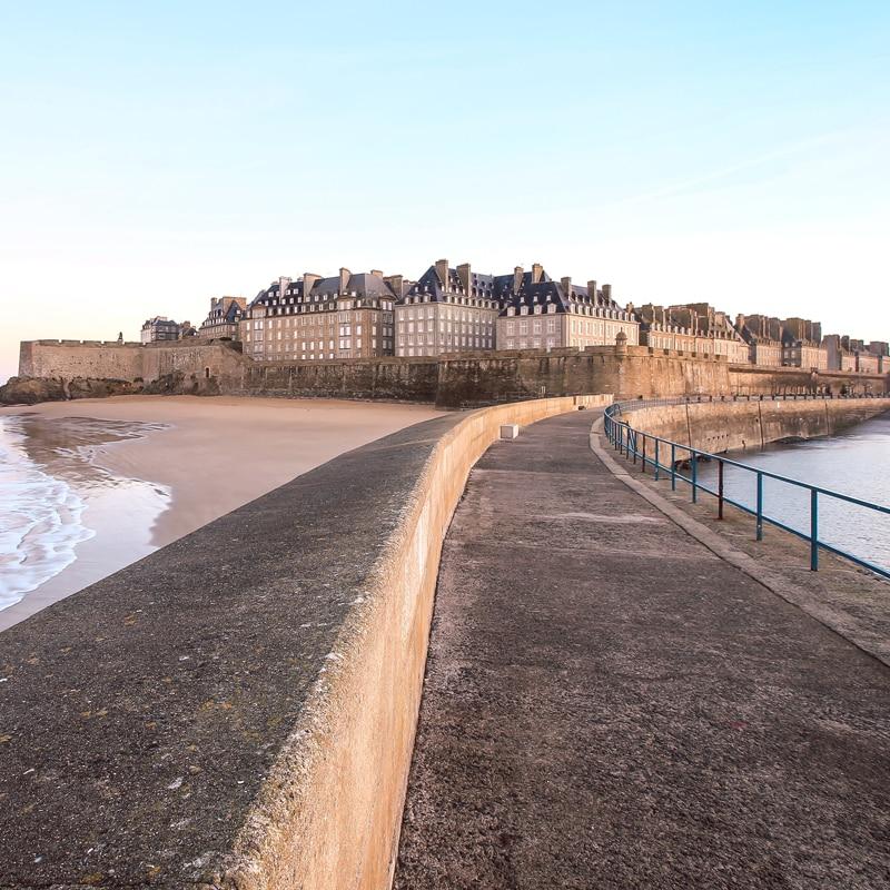 Le Môle à Saint-Malo