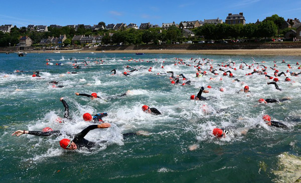 Triathlon de la côte d'Emeraude 1