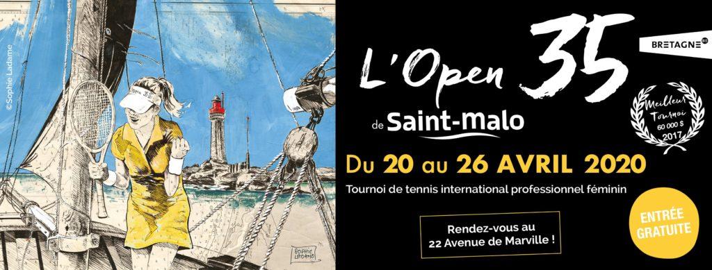 Tennis : L'Open 35 de Saint-Malo 1