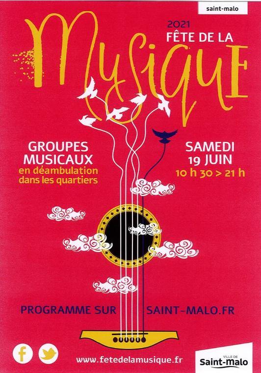 fête de la musique à Saint-Malo