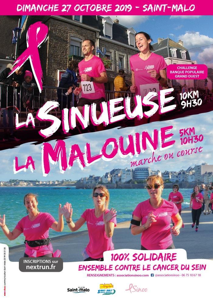 La Sinueuse à Saint-Malo