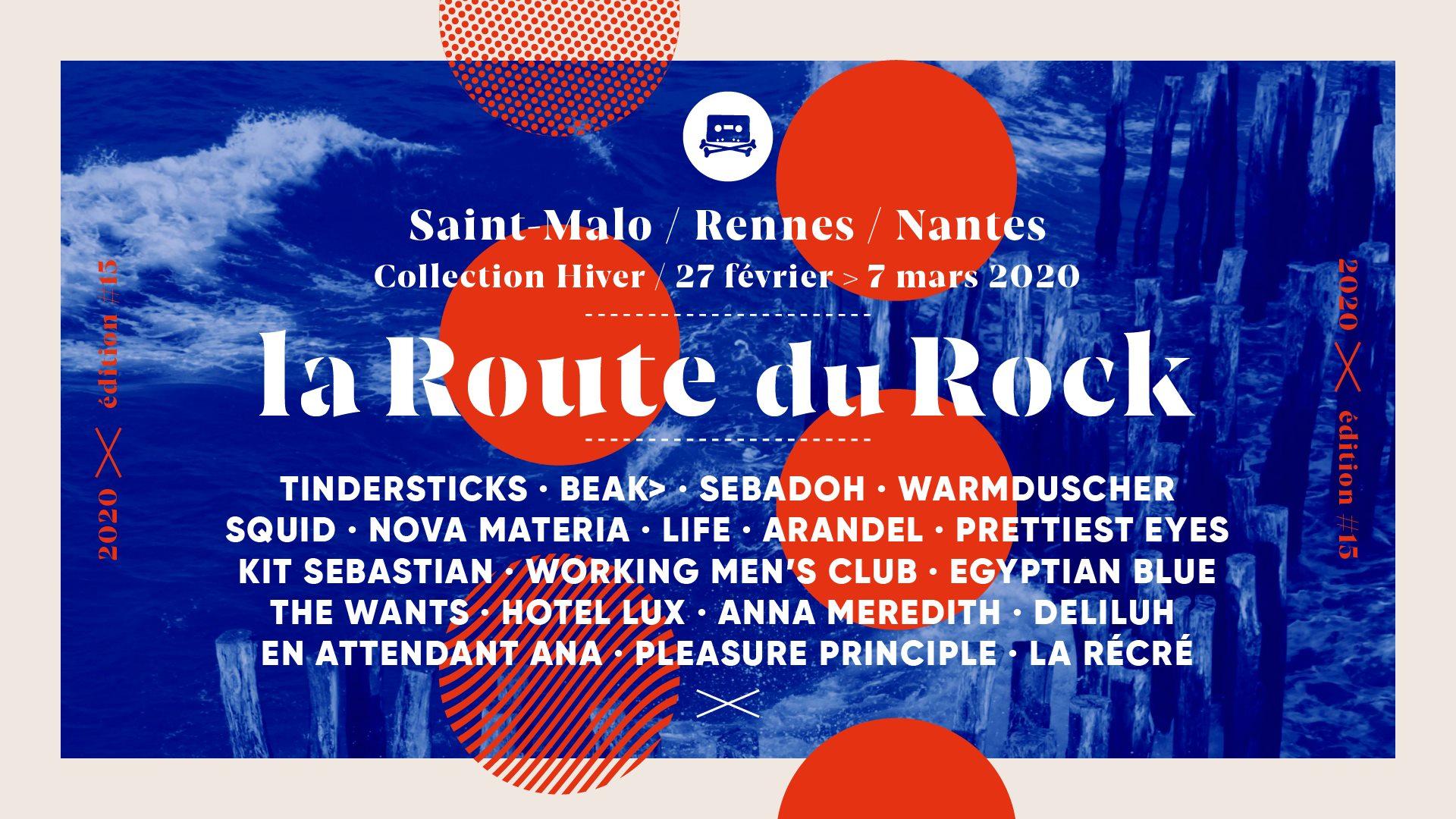 Route du Rock à St Malo 2020