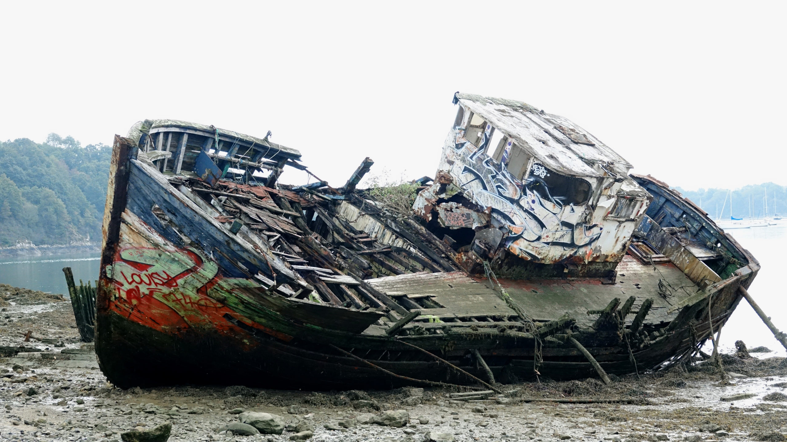 épave bateau