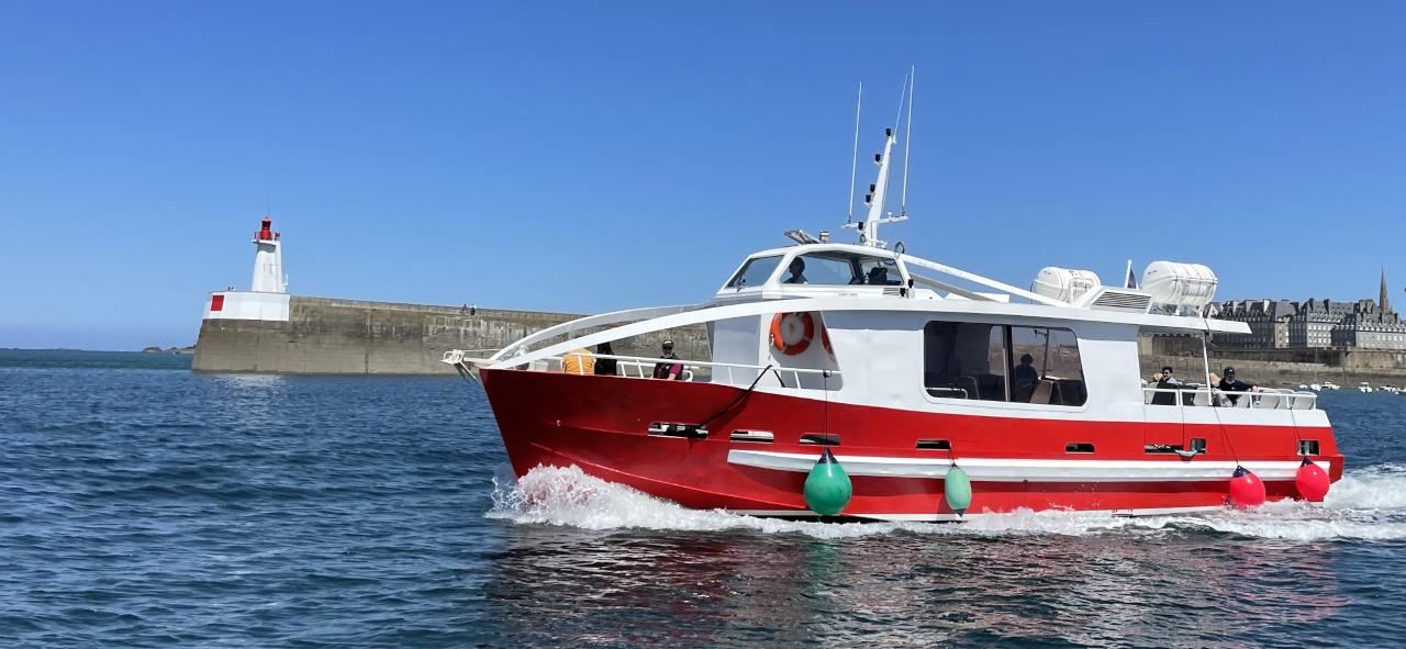 bateau taxi saint-malo