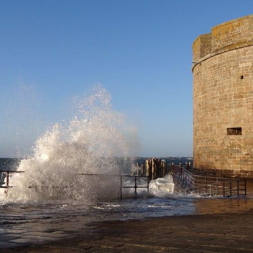 grande marées sur intra-muros