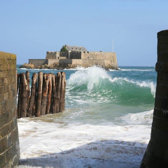 Le Fort National à Saint-Malo