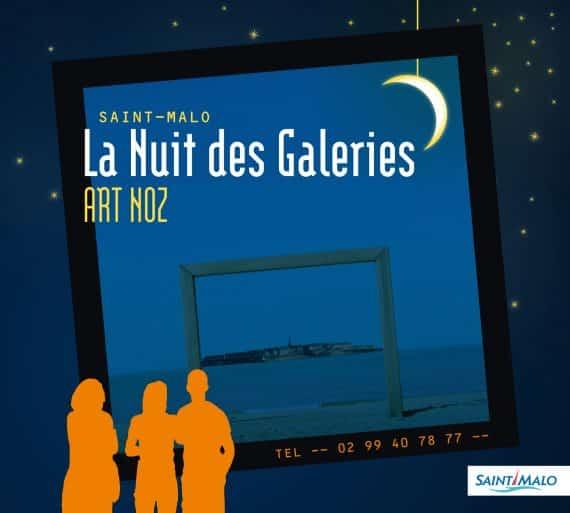 La nuit des galeries à Saint-Malo