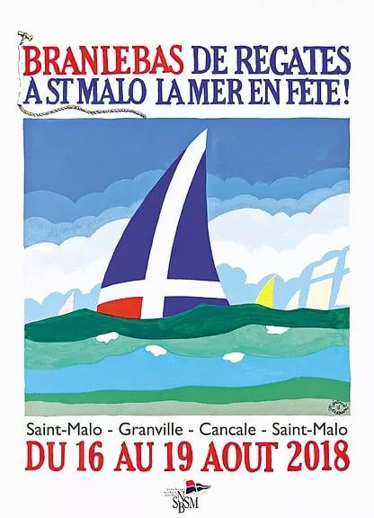 Branle bas de régate à Saint-Malo