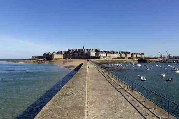 visite guidée à Saint-Malo