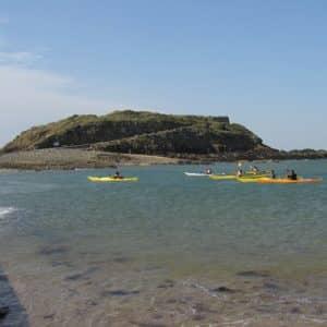 Kayak à Saint-Malo