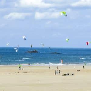Kitesurf à Saint-Malo